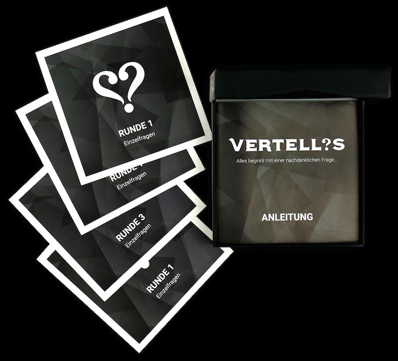 Vertellis, das Spiel für bessere Beziehungen - good news for you
